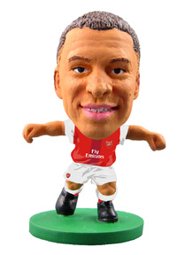 Soccerstarz - Arsenal Alex Oxlade-Chamberlain - Home Kit (2017 version) Figures - Cover