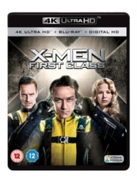 X-Men: First Class (4K Ultra HD + Blu-ray)