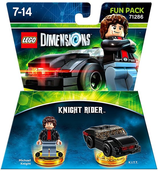 lego dimensions knight rider fun pack for ps3 ps4 xbox. Black Bedroom Furniture Sets. Home Design Ideas