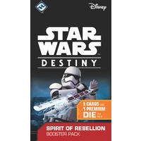 Star Wars: Destiny - Spirit of Rebellion Booster Pack (Collectible Dice Game)