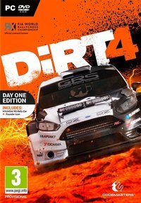 DIRT 4 (PC) - Cover