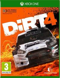 DIRT 4 (Xbox One) - Cover