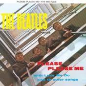 The Beatles Please Please Me Steel Sign - Cover