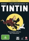Adventures of Tintin (DVD) Cover