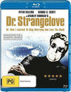 Dr. Strangelove or: How I Learned to Stop Worrying and Love the Bomb (Region A Blu-ray)