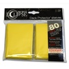 Ultra Pro - Standard Sleeves - Eclipse - Yellow (80 Sleeves)