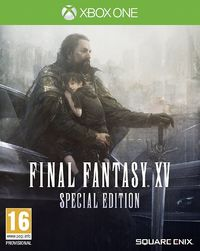 Final Fantasy XV - Steelbook Special Edition (Xbox One) - Cover