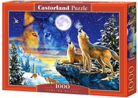 Castorland - Howling Wolves Puzzle (1000 Pieces) - Cover