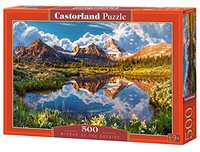 Castorland - Mirror of the Rockies Puzzle (500 Pieces) - Cover