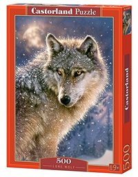 Castorland - Lone Wolf Puzzle (500 Pieces) - Cover