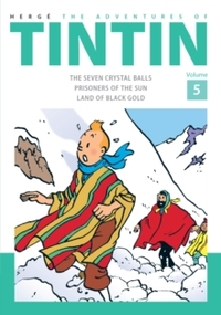 Adventures of Tintin - Herge (Hardcover) - Cover