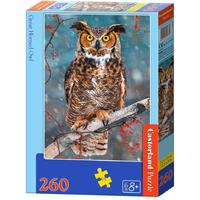 Castorland - Great Horned Owl Puzzle (260 Pieces)