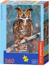 Castorland - Great Horned Owl Puzzle (260 Pieces) Cover