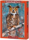 Castorland - Great Horned Owl Puzzle (500 Pieces) Cover