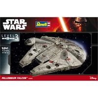 Revell - Star Wars: Milenium Falcon 1/241 (Glue & Paint Incl)
