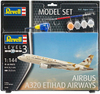 Revell - 1/144 - Airbus A320 ETIHAD AIRWAYS Model Set (Plastic Model Kit)
