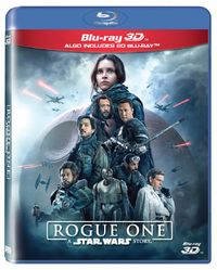 Rogue One: A Star Wars Story (3D/2D Blu-ray + Bonus Disc) - Cover