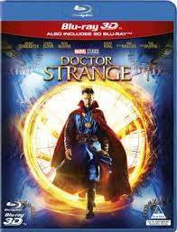 Doctor Strange (3D/2D Blu-ray) - Cover