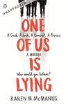 One of Us Is Lying - Karen McManus (Paperback)
