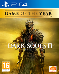 Dark Souls III: The Fire Fades Edition (PS4) - Cover