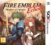 Fire Emblem Echoes: Shadows of Valentia (3DS) - Cover