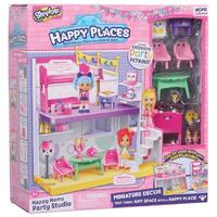 Happy Places Shopkins Bedroom and Dining Happy Studio Playset