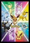 Pokemon - Eevee Evolution (Framed Poster)