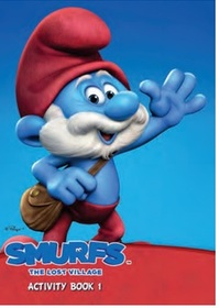 Smurfs The Lost Village:  Activity Book 1 (Paperback) - Cover