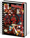 Deadpool Panels A5 Notebook