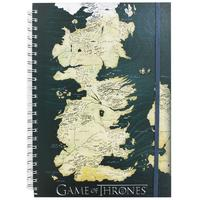 Game of Thrones – Map of Westeros A5 Notebook