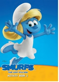 Smurfs The Lost Village:  Activity Book 2 (Paperback) - Cover