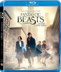 Fantastic Beasts And Where To Find Them (Blu-ray) - Cover