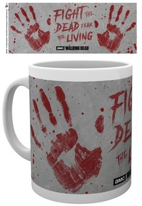 The Walking Dead - Hand Prints Boxed Mug - Cover