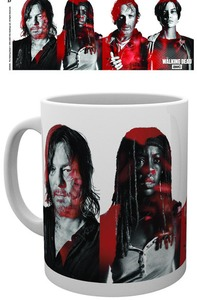 The Walking Dead - Cast Boxed Mug - Cover