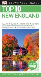Dk Eyewitness Top 10 New England - Patricia Harris (Paperback) - Cover