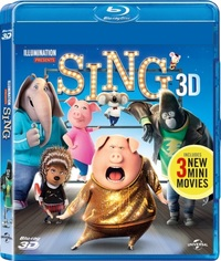 Sing (3D Blu-ray) - Cover