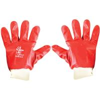 Fragram - PVC Workers Gloves with Knitted Wrists