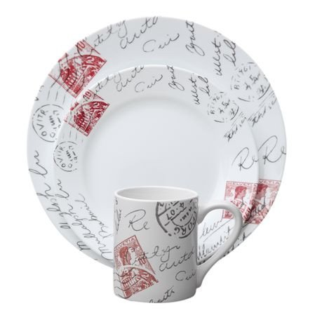 Corelle - Boutique Sincerely Yours Dinnerware Set - 16pc - Cover  sc 1 st  Raru & Corelle - Boutique Sincerely Yours Dinnerware Set - 16pc | Raru