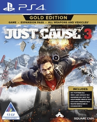 Just Cause 3 (PS4) - Cover