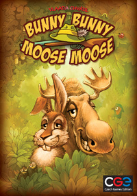 Bunny Bunny Moose Moose (Board Game) - Cover