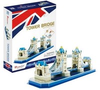 Cubicfun - Tower Bridge - UK 3D Puzzle (52 Pieces)