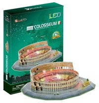 Cubicfun - The Colosseum - Italy 3D Puzzle (185 Pieces)
