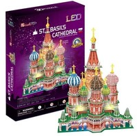 Cubicfun - St. Basil's Cathedral - Russia 3D Puzzle (224 Pieces)