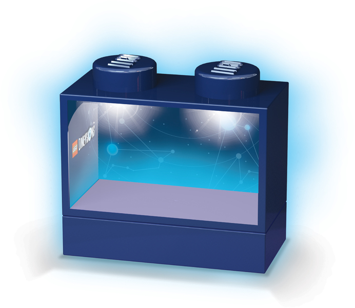 Lego Dimensions Led Lite Display Case For Minifigures