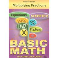 Basic Maths - Multiplying Fractions (DVD)