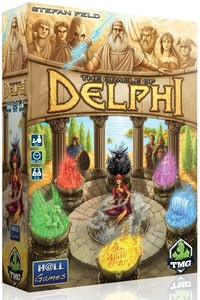 The Oracle of Delphi (Board Game) - Cover