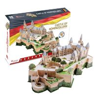 CubicFun - Castle of Hohenzollern - Germany 3D Puzzle (185 Pieces)
