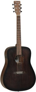 Tanglewood Crossroads Dreadnought Acoustic Electric Guitar (Whiskey Barrel Burst)