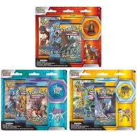 Pokémon TCG - Legendary Beasts: Collector's Pin Pack Blister (Raikou, Entei, or Suicune) (Trading Card Game)