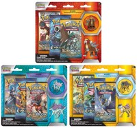 Pokémon TCG - Legendary Beasts: Collector's Pin Pack Blister (Raikou, Entei, or Suicune) (Trading Card Game) - Cover